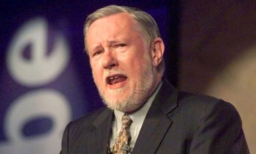 Adobe co-founder Charles Geschke, seen here in 1999.